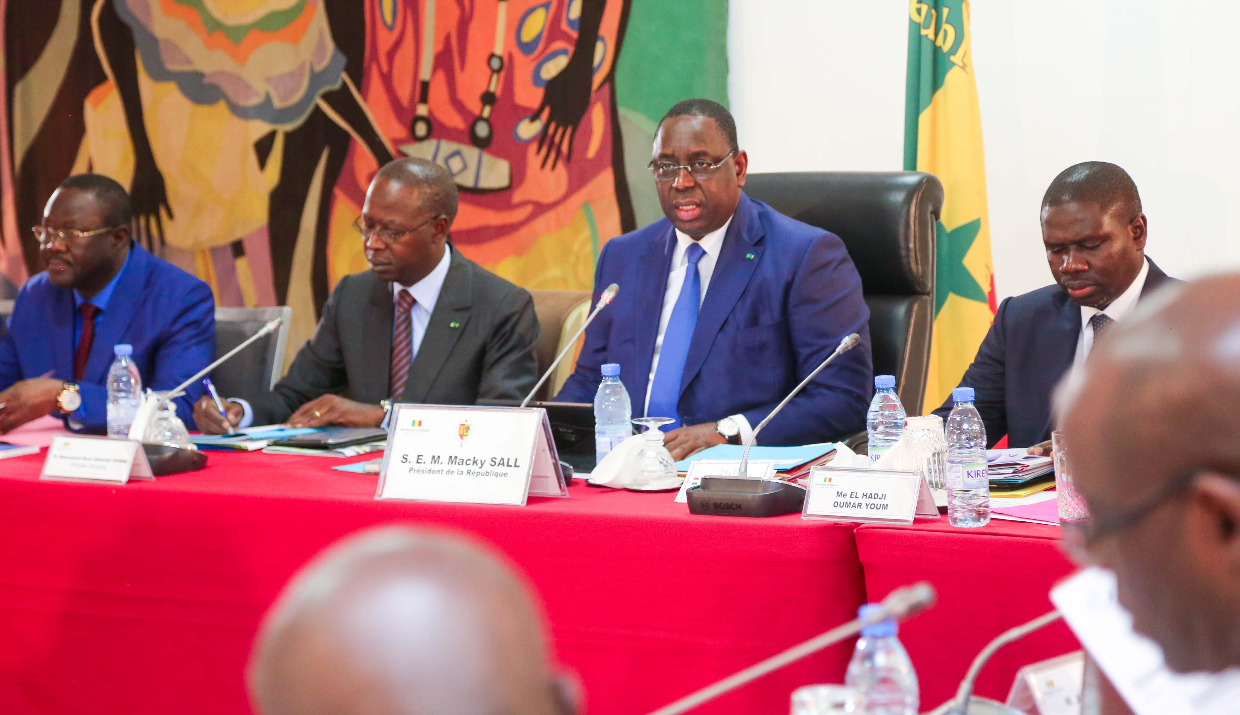 Le communiqué du Conseil des ministres et les Nominations de ce 27 décembre 2017
