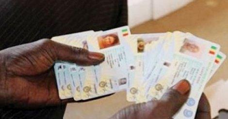 Cartes d'identité numérisées : Leur durée de validité encore prorogée jusqu'au 30 Avril 2018