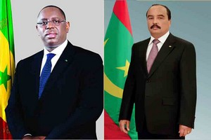 Ould Abdel Aziz présente ses condoléances à Macky SALL