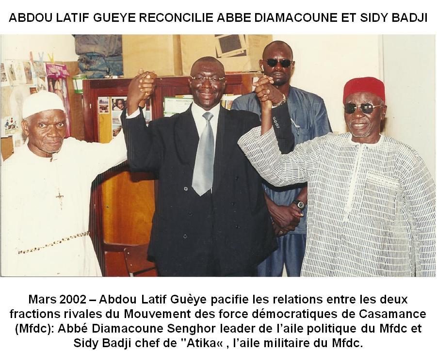Le RDS exhorte le président Macky Sall à la vigilance, face l'activisme sulfureux des «Monsieur-Casamance» !