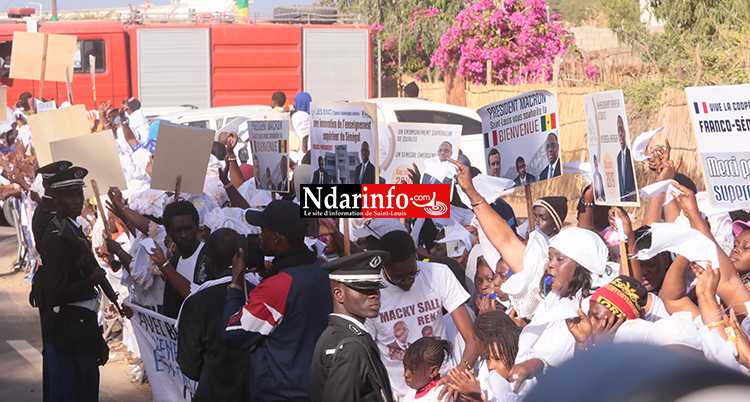 Accueil des Présidents : la grosse démonstration de force de Mary Teuw NIANE ( vidéo & photos)