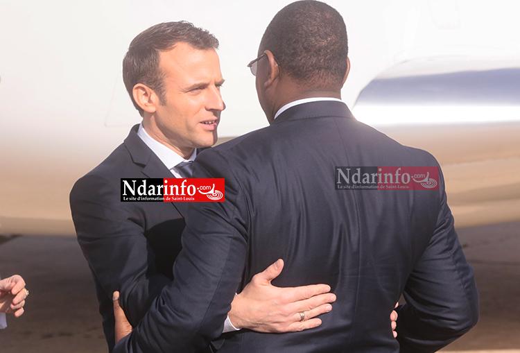 """MACRON : """"Saint-Louis, c'est le meilleur de l'Afrique et de la France réunis"""""""