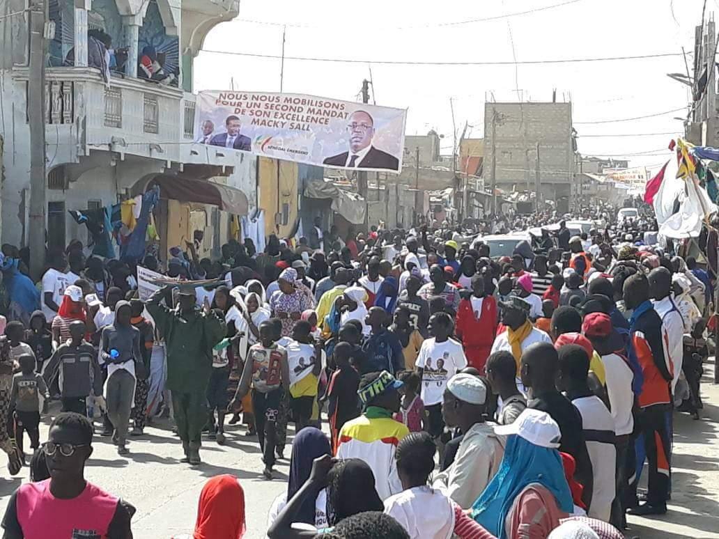 Visite des Présidents : Babacar GAYE salue la forte mobilisation des populations de La Langue de Barbarie (communiqué)