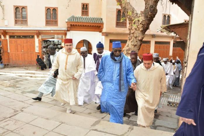 Les images du séjour du Khalife général des Tidianes, Serigne Mbaye Sy au Maroc