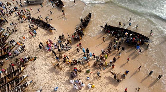 """Saint-Louis : les pêcheurs attendent des """"résultats positifs"""" du voyage de Macky SALL à Nouakchott"""
