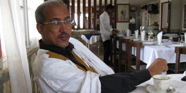 Fall Ould Oumeir, journaliste mauritanien. (Crédits : DR)