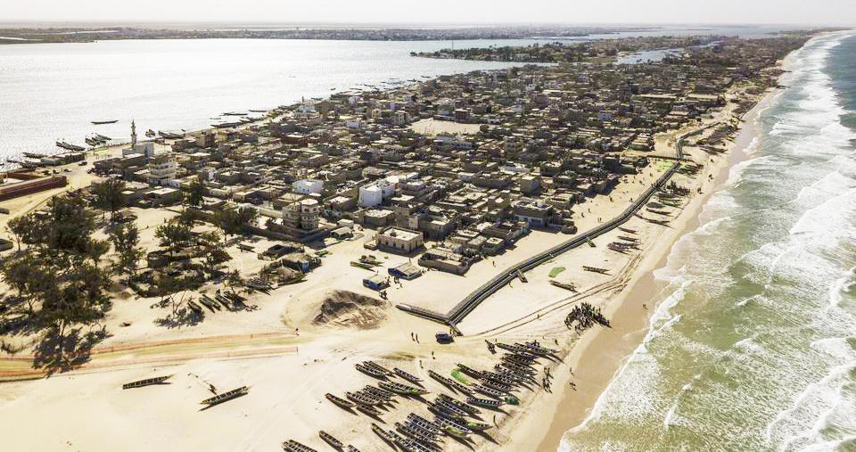 """Souleymane Niang, géologue : """" la future digue de Saint-Louis ne protégera pas contre l'érosion côtière """""""