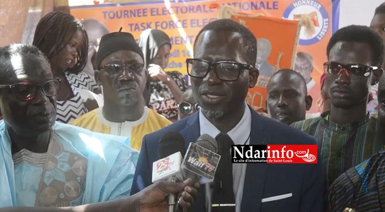 Le Docteur NDOYE dément le ministre Oumar GUEYE : «  Il n'y a pas de patrouilleur à Saint-Louis. Nous avons vu la marine mauritanienne à hauteur de la chaumière » (vidéo)