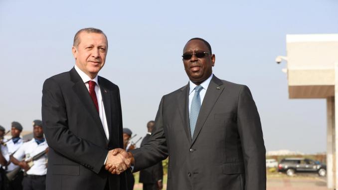 Erdogan au Sénégal, le 28 février