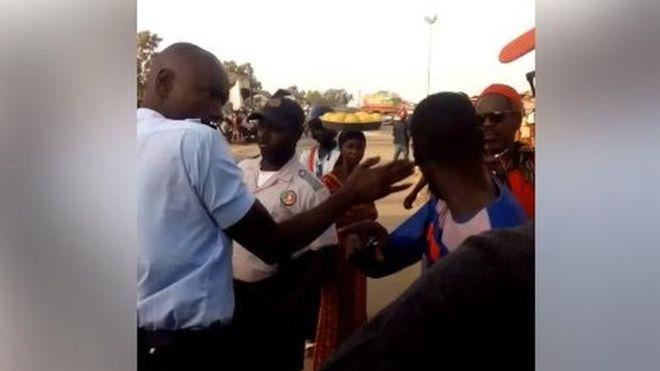Policier gifleur : L'agent Fall aux arrêts de rigueur pour 10 jours
