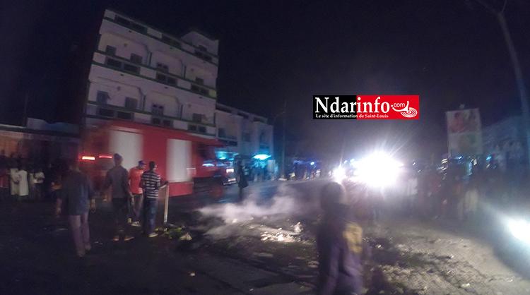 Refoulements d'égouts : manifestations nocturnes à TABLEAU WALO  (vidéo)