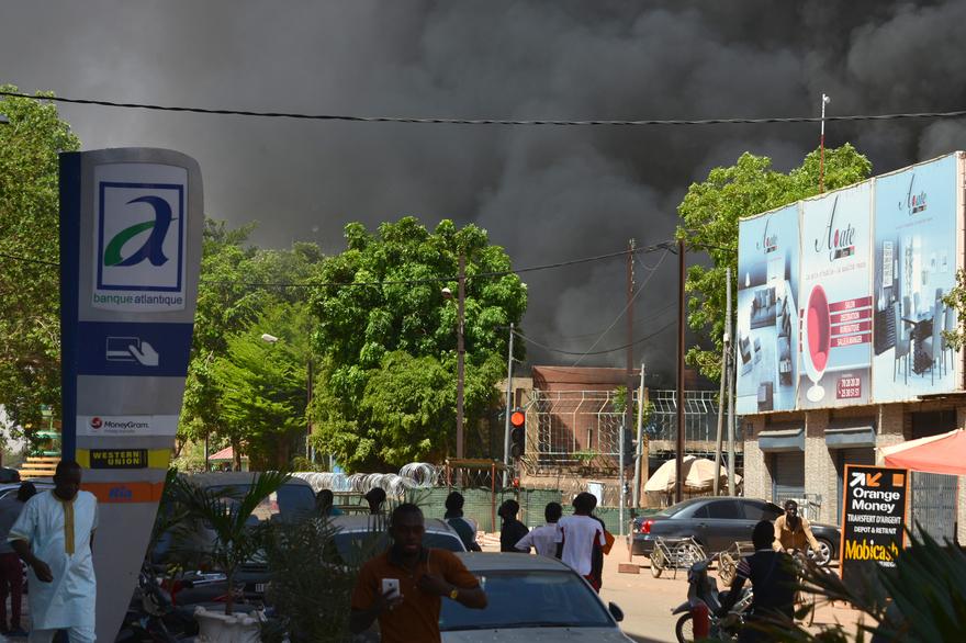 Attaque à Ouaga : 6 assaillants abattus, 7 militaires décédés, 6 blessés dont 2 civils, selon le bilan provisoire