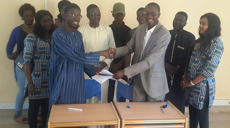 Formation des Jeunes : le CCJ signe une convention avec un institut d'enseignement professionnel.