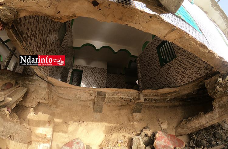 La situation de la mosquée de DAKK