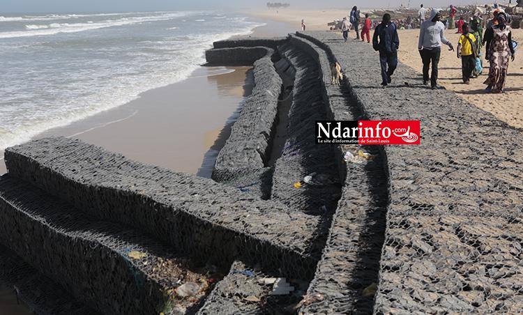GOXU MBACC : la détérioration de la digue de protection suscite des inquiétudes (Vidéo & Photos)