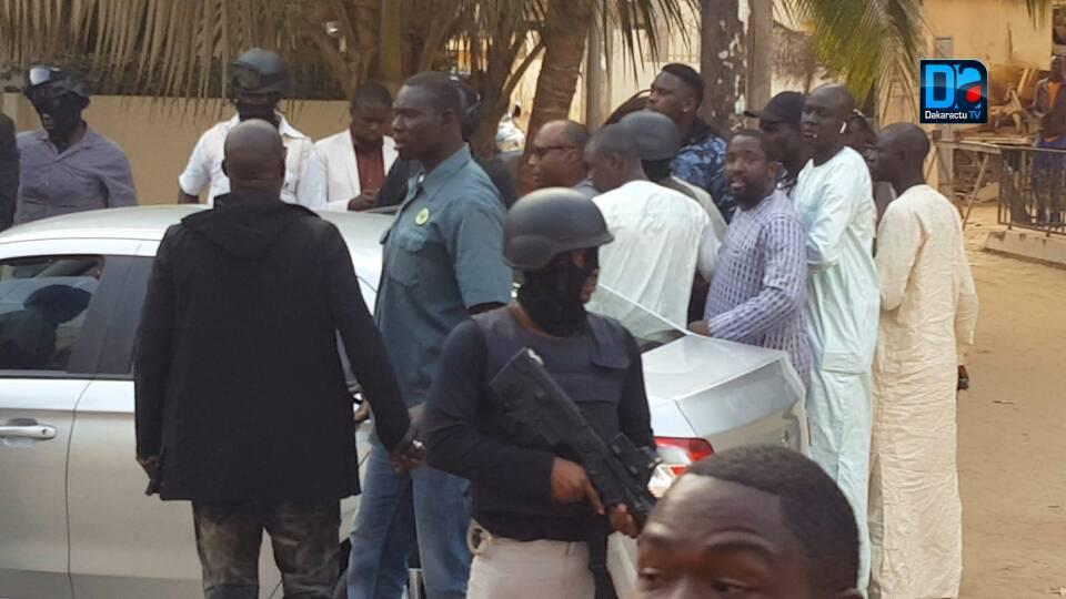 URGENT : Barthélémy Dias et Serigne Diagne de Dakaractu arrêtés