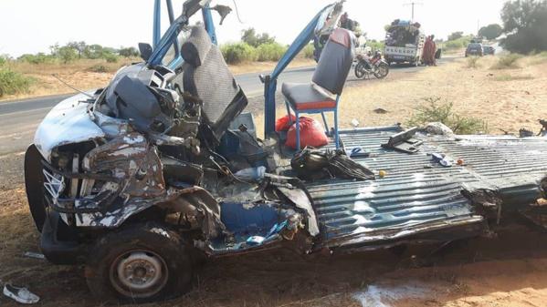 Louga : une voiture se renverse et fait un mort et un blessé grave