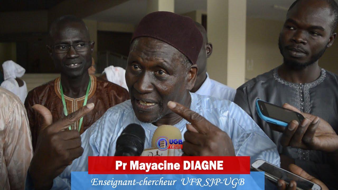 Avis de décès du Professeur Mayacine DIAGNE