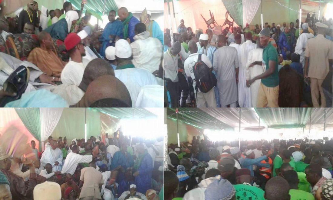 NDIOUM : Le film de la Bagarre entre Pro Daouda Diallo et Cheikh Oumar Hann