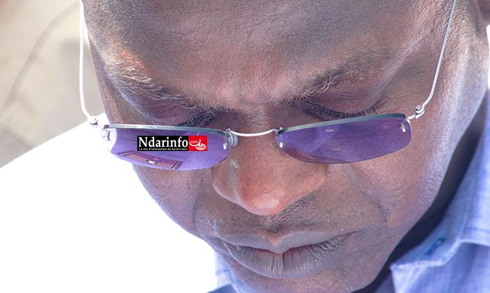 Le Ministre de la Pêche et de l'Économie maritime, Oumar Gueye