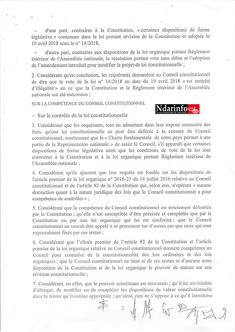 Loi sur le parrainage : la décision du Conseil constitutionnel tombe (documents)
