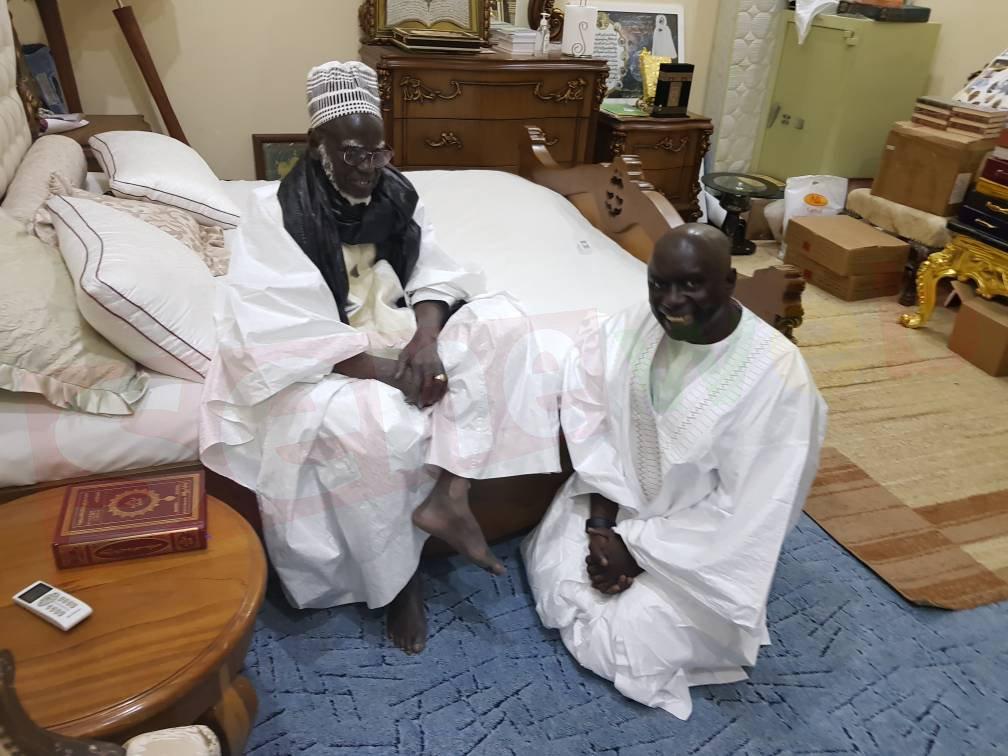 Touba : Idy en tête-à-tête avec le Khalife général des Mourides