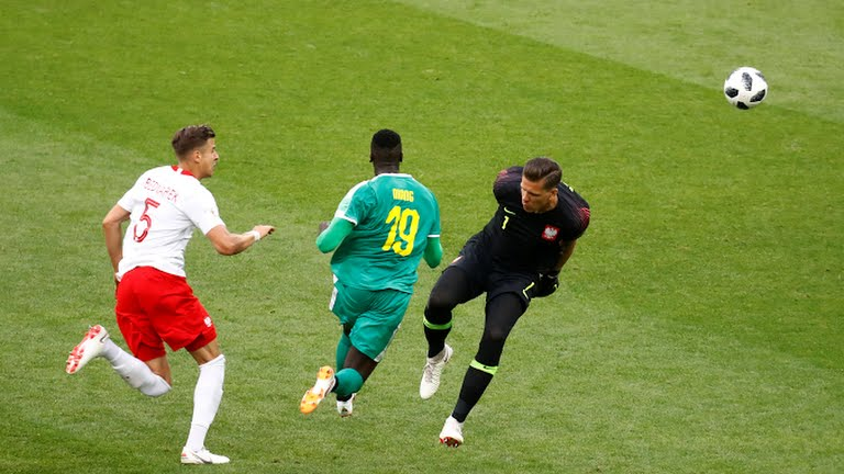 """Mbaye Niang, élu homme du match Pologne-Sénégal : """"On peut aller le plus loin possible"""""""