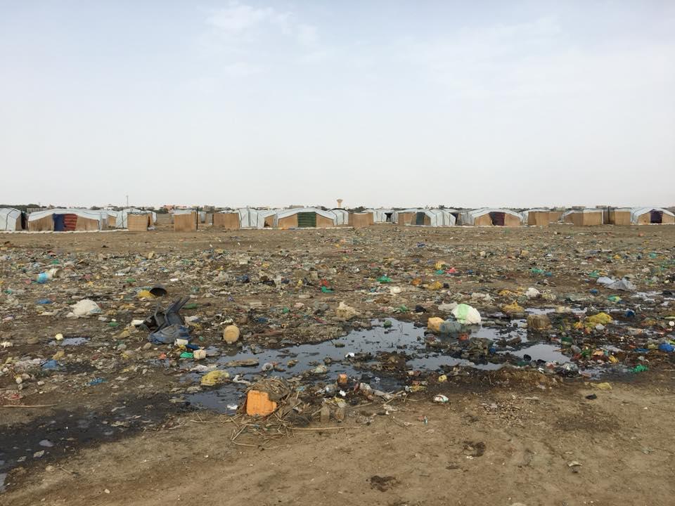 Une bombe à côté des sinistrés de la Langue de Barbarie (photos)