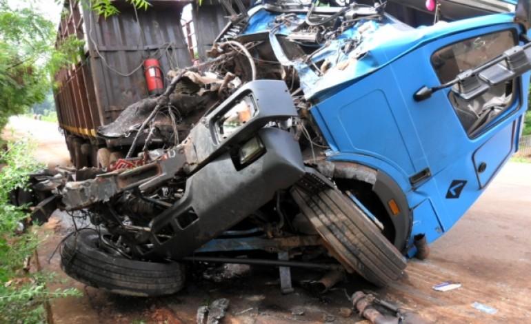 Accident de la route : un bilan de 4554 accidents en trois ans, 638 morts en 2017