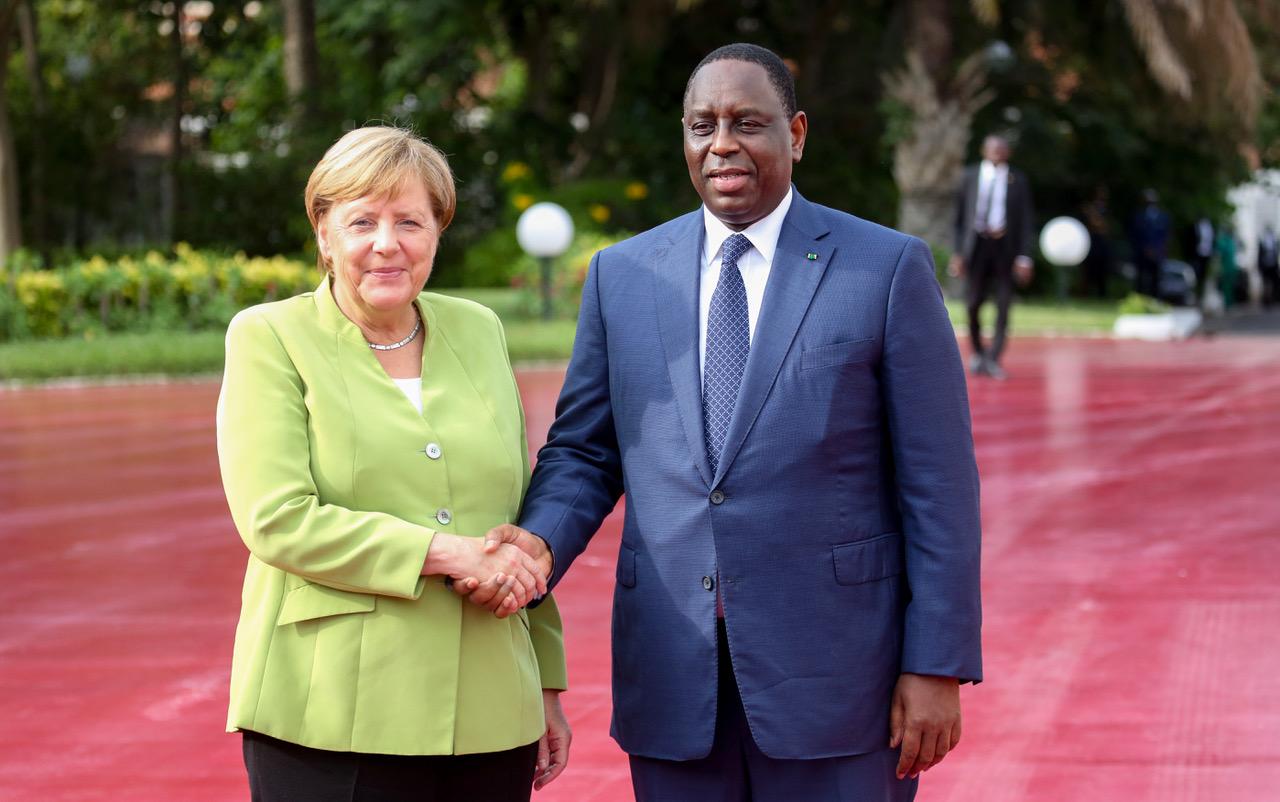 """Berlin souhaite établir un """"bon partenariat"""" avec Dakar (Angela MERKEL)"""
