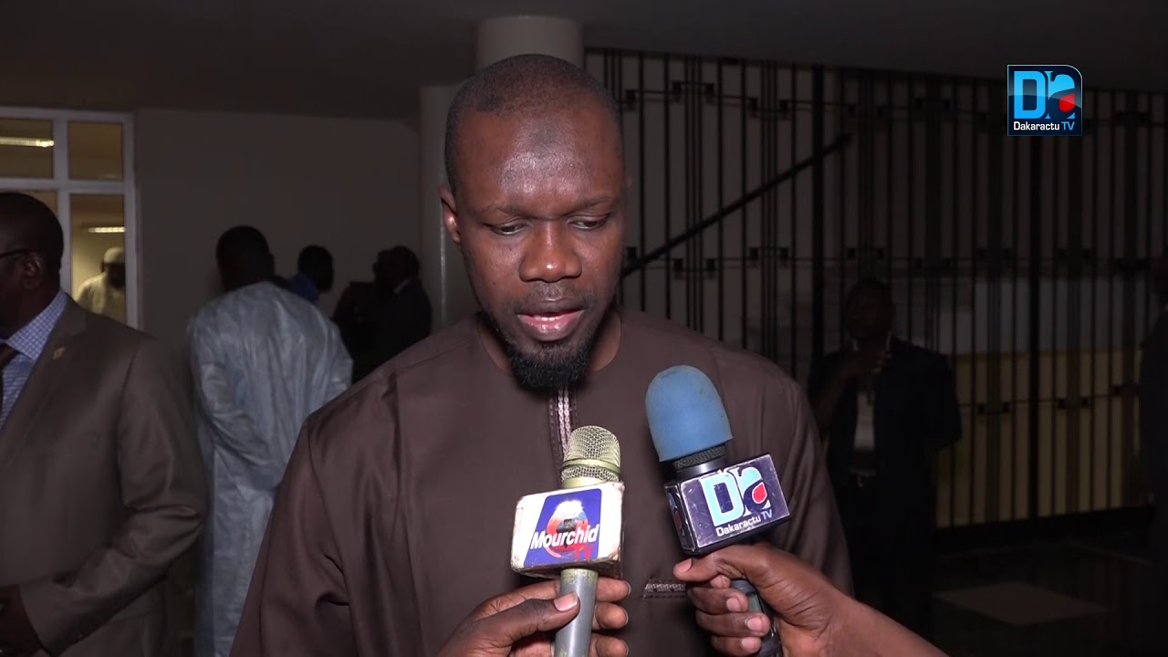 """Révocation de Khalifa Sall : Sonko regrette """"l'apathie des Sénégalais"""""""