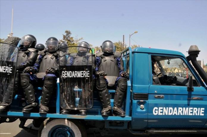 Un véhicule de la gendarmerie de Saint-Louis fait des tonneaux sur la  RN2