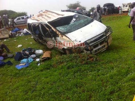 LOUGA : 22 victimes après un accident à Ngaraff