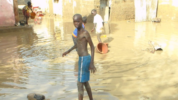 Une nuit de tamxarite infernale: Plusieurs quartiers de Thiès sous les eaux
