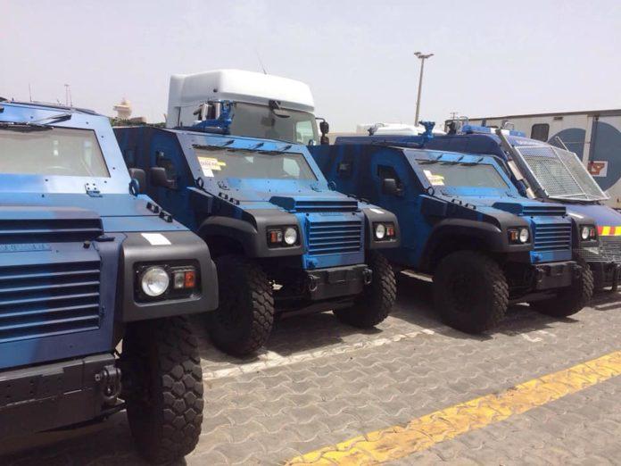 Acquisition de 65 engins blindés anti-émeutes : Dakar se bunkerise