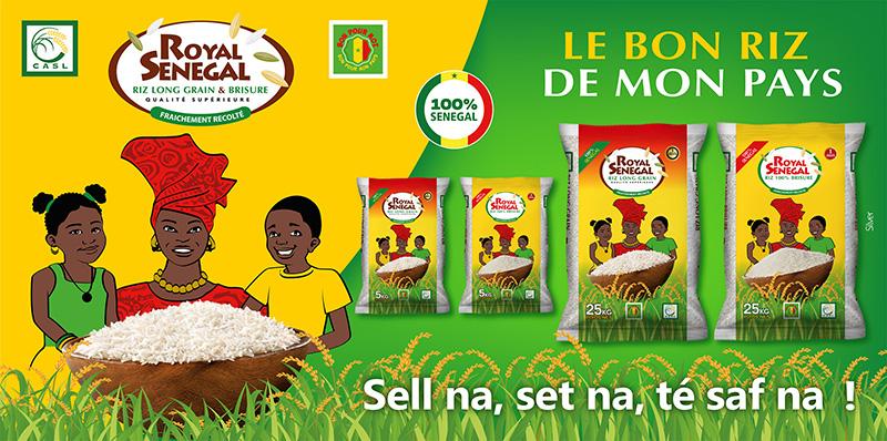 """""""ROYAL SÉNÉGAL"""" de la CASL : Un riz de qualité aux saveurs de la vallée ( Publireportage )"""