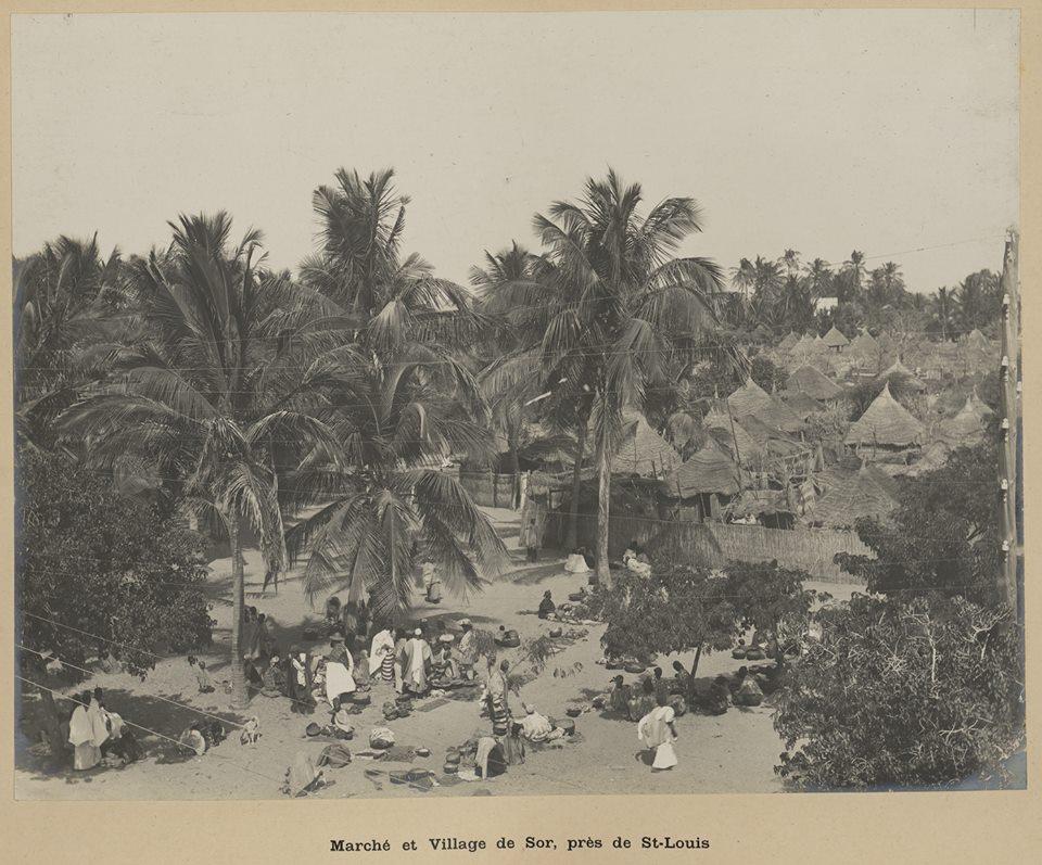 Carte postale : Une photo inédite du quartier Sor