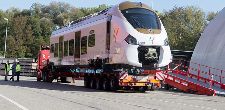 TER : Alstom a commencé à expédier les 15 trains