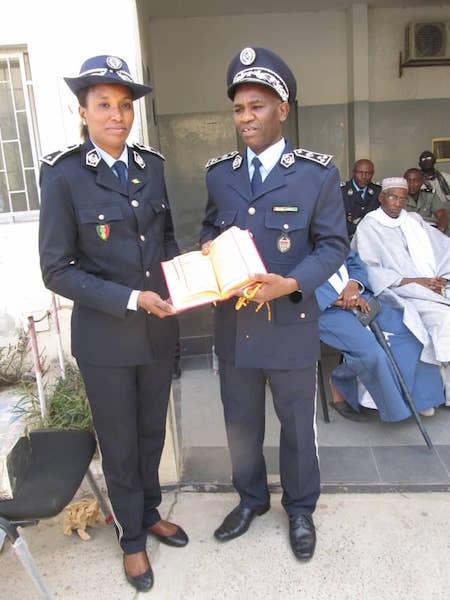 POLICE : de vibrants hommages au Commissaire Aissatou KA ( photos)