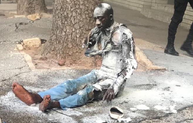 Palais de la présidence de la République: Un homme s'asperge de l'essence et s'immole par le feu