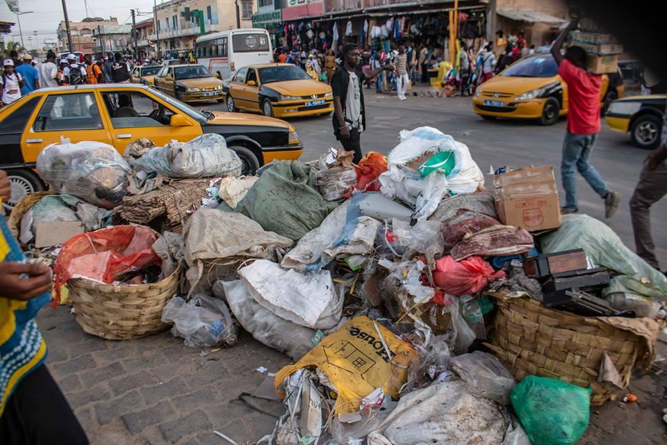Les ordures grouillent à Saint-Louis (photos)
