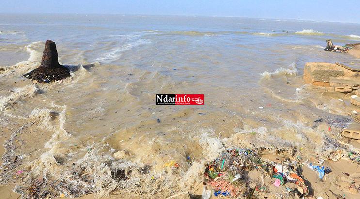 HOULE DANGEREUSE : déluge sur le GANDIOLAIS (Vidéo - Photos)