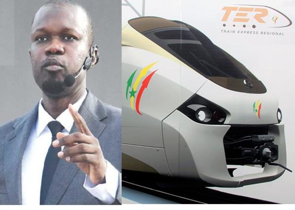 Les graves révélations de Sonko : «Le TER revient à 1600 milliards. Macky a rajouté 200 milliards pour...»