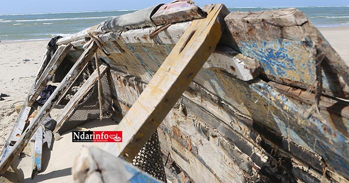 Urgent - Chavirement de 5 pirogues sur la brèche : 7 pêcheurs secourus