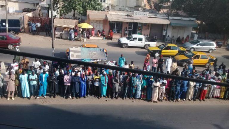 Inhumation du Sidy Lamine : Les locaux de WALF déjà pris d'assaut ( Photos)