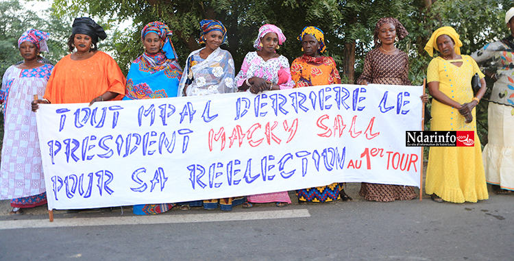 Macky SALL à Saint-Louis: MPAL se mobilise derrière Mor Guèye GAYE ( photos)