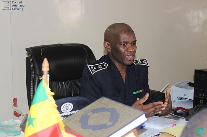 Décès de Sokhna Oumou Kalsoum SY : le commissaire DIARRA touché par les témoignages de solidarité