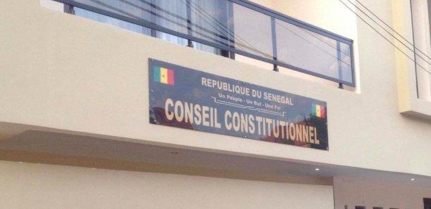 Liste provisoire des candidats : Pourquoi le Conseil constitutionnel n'a pas délibéré hier