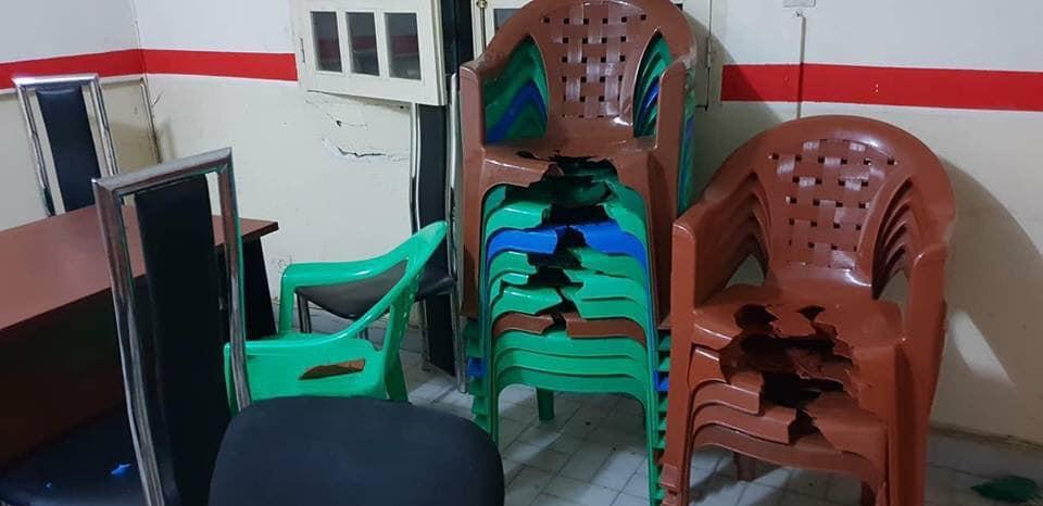 (Photos) Le siège d'Ousmane SONKO saccagé par des éléments armés