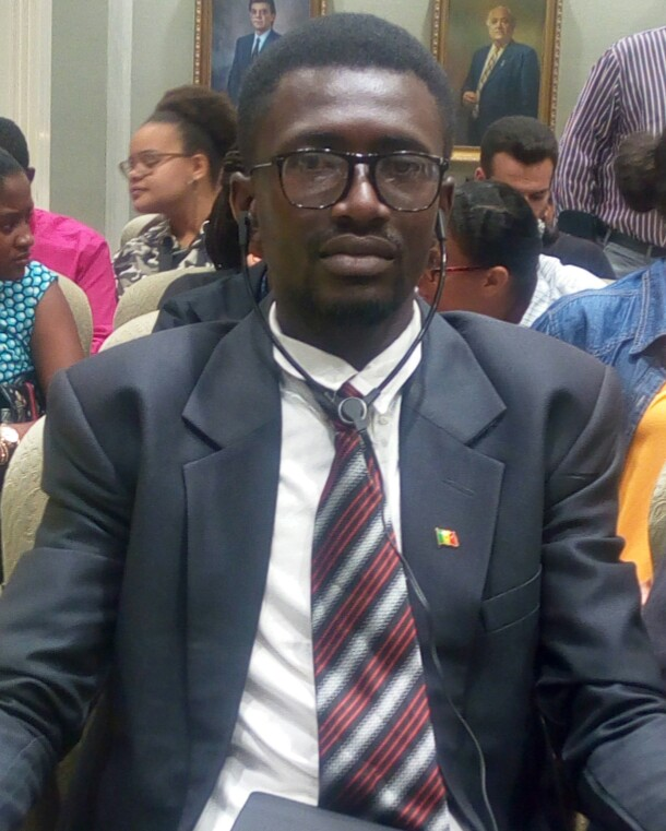 Mouhamadou Moustapha Dieng, Le Coordonnateur du Cercle des Etudiants du  Grand Parti de l'UGB de Saint-Louis